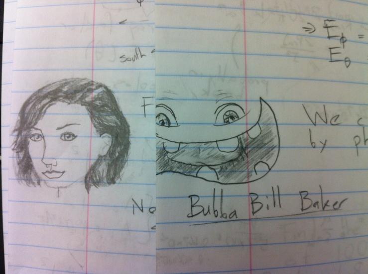 Mona and Bubba