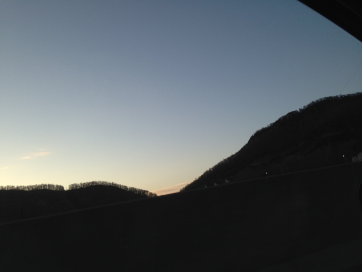 Sunset over Cumberland Gap