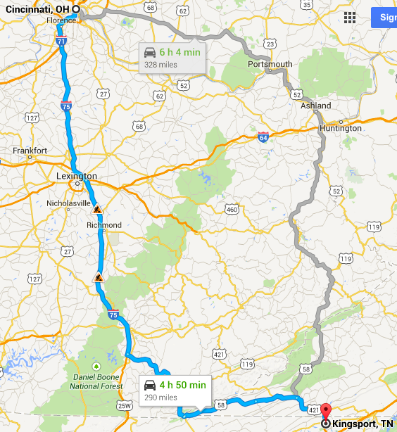 The 6 hour alternate route looks boring, but I could be wrong about that.
