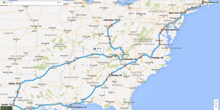 RoadTripAdventureMap